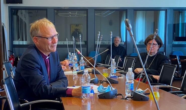 Henrik Stubkjær til møde i Rom