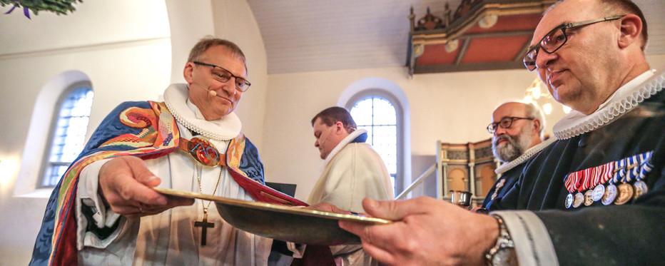 Biskop Henrik Stubkjær til kirkeindvielse