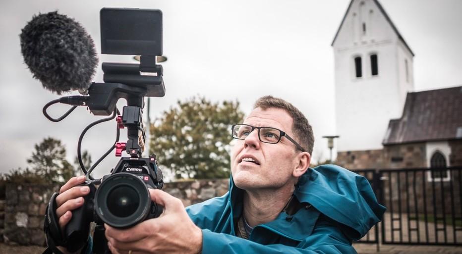 Henrik Helms, ny kommunikationskoordinator i Viborg Stift