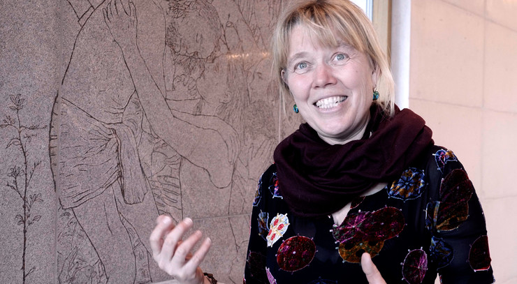 Laila Westergaard forklarer