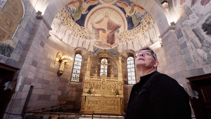 Vært Troels Laursen i Viborg Domkirke