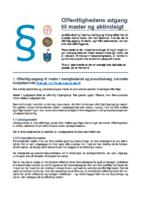 17.01.2020 - Offentlighedens adgang til møder og aktindsigt.pdf