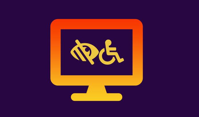Logo for webtilgængelighed