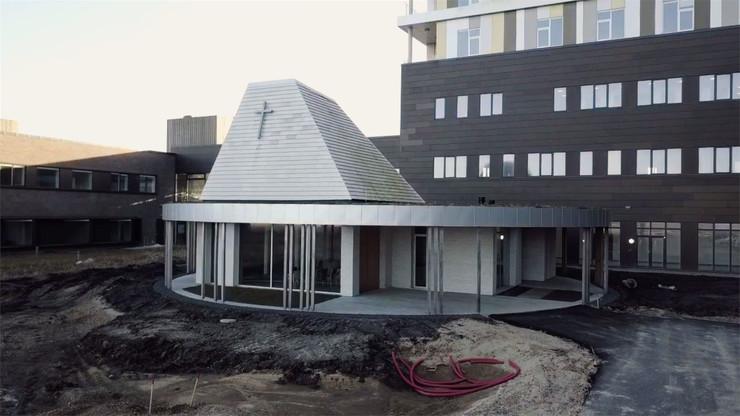 Hospitalskirken i Gødstrup udefra
