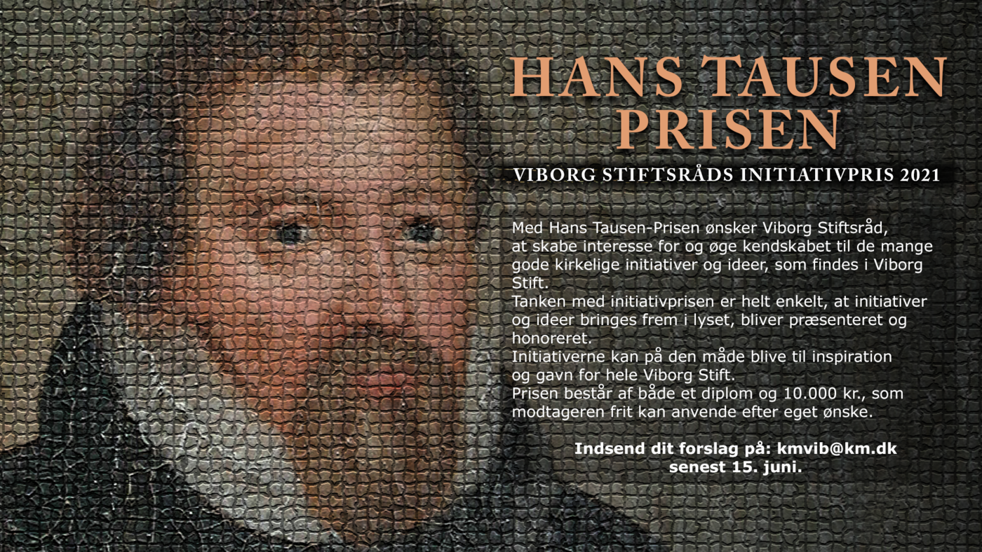Hans Tausen Prisen 2021 med tekst