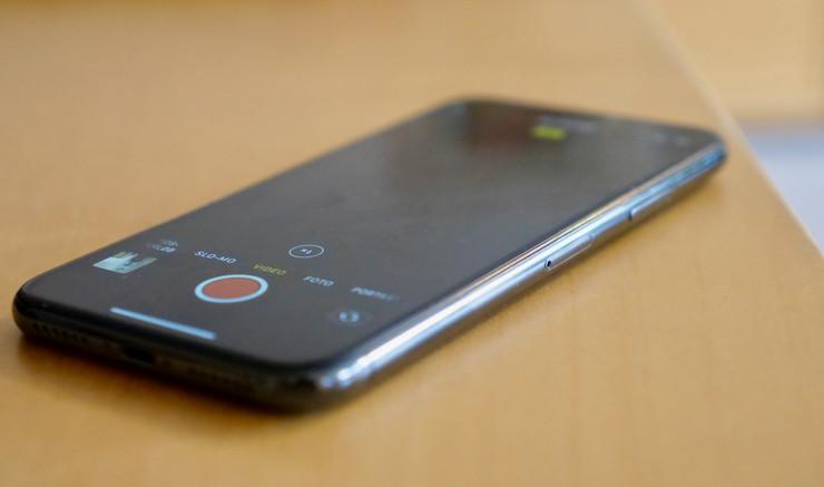 Klar til optagelse med mobiltelefon