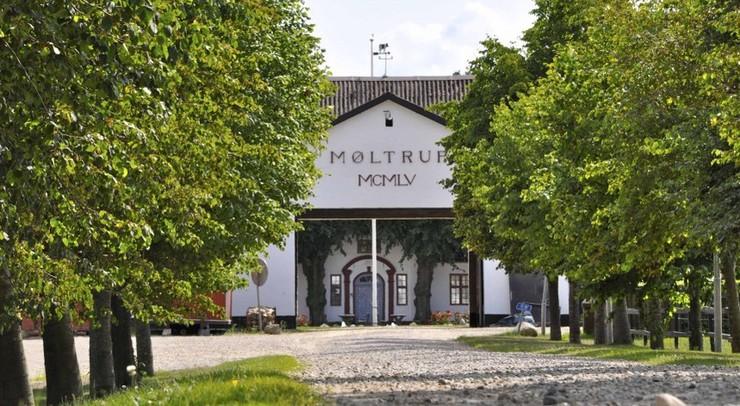 Indgangspartiet til Møltrup