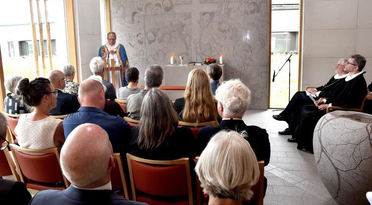 Biskop Henrik Stubkjær prædiker ved indvielsen