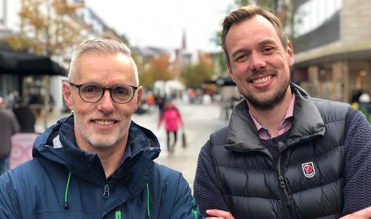 Lars Bo Olesen og Jens Christian Kirk
