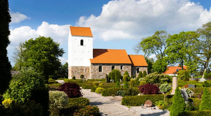 Billede af Skivum Kirke