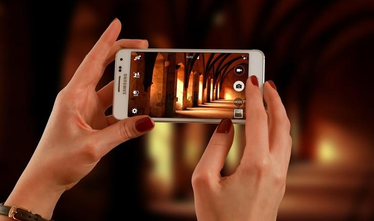 Filmer med mobiltelefon