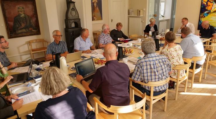 Totalbillede fra stiftsrådsmøde