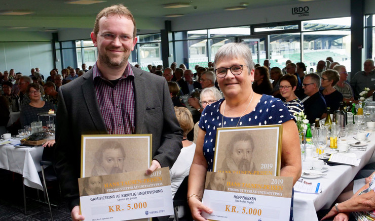 To vindere af Hans Tausen prisen